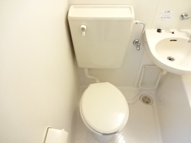 水洗トイレです