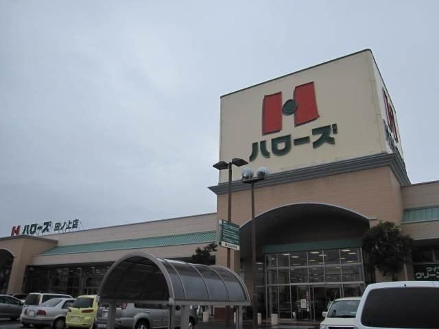 ハローズ田ノ上店(スーパー)まで935m