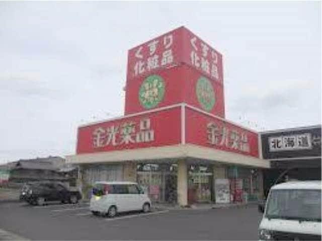 金光薬品東塚店(ドラッグストア)まで682m