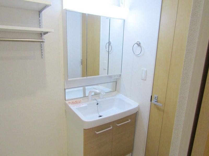 シャワー付独立洗面台
