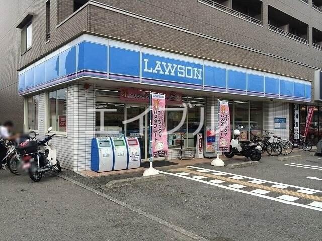 ローソン高知朝倉駅前店(コンビニ)まで39m