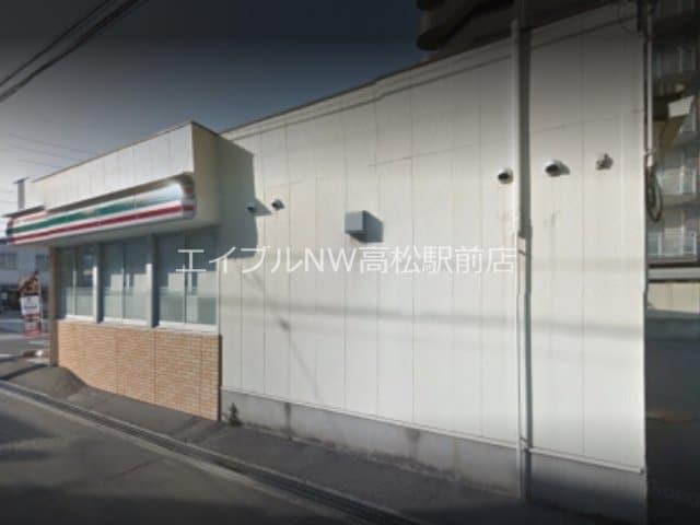 セブンイレブン高松JR栗林駅前店(コンビニ)まで248m