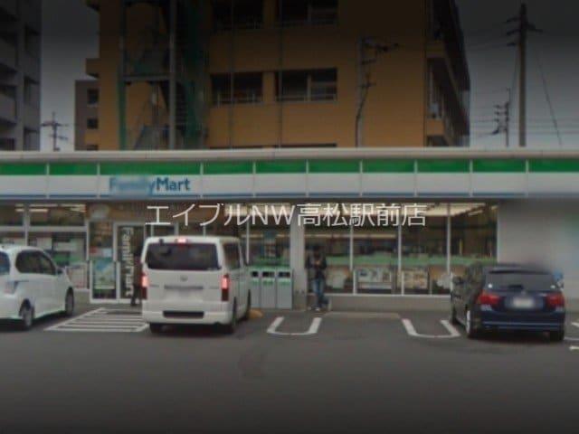 ファミリーマート高松国際ホテル前店(コンビニ)まで536m
