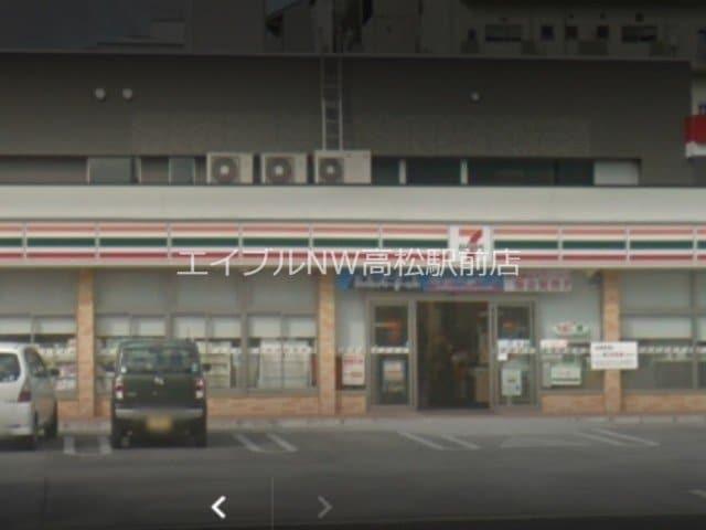セブンイレブン高松上福岡町店(コンビニ)まで327m