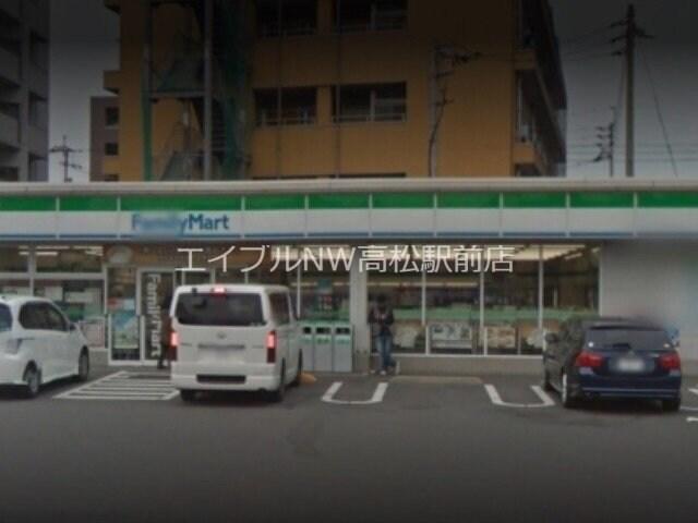 ファミリーマート高松国際ホテル前店(コンビニ)まで542m