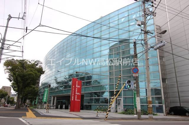 高松市中央図書館(図書館)まで2168m