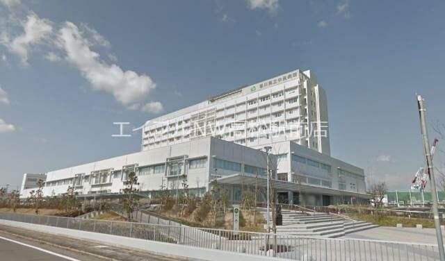 香川県立香川中央病院(病院)まで568m