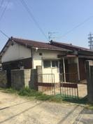 前川平屋貸家の外観