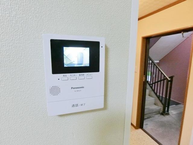 TVインターホン付きで安心ですね