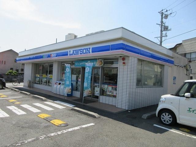 ローソン富士伝法店(コンビニ)まで112m※ローソン富士伝法店