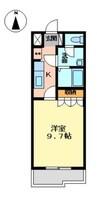 岳南電車/吉原本町駅 徒歩36分 1階 築14年 1Kの間取り