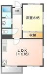 東海道本線/沼津駅 徒歩25分 2階 築39年 1LDKの間取り