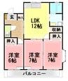 御殿場線(静岡県内)/大岡駅 徒歩37分 3階 築20年 3LDKの間取り