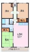 東海道本線/三島駅 バス:10分:停歩2分 2階 築26年 3LDKの間取り