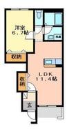 伊豆箱根鉄道駿豆線/牧之郷駅 徒歩3分 1階 築9年 1LDKの間取り