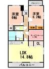 伊豆箱根鉄道駿豆線/伊豆仁田駅 徒歩3分 2階 築14年 2Rの間取り