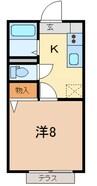 御殿場線(静岡県内)/南御殿場駅 徒歩18分 2階 築15年 1Rの間取り