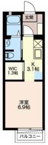 御殿場線(静岡県内)/富士岡駅 徒歩9分 1階 築15年 1DKの間取り