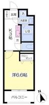 御殿場線(静岡県内)/富士岡駅 徒歩17分 5階 築11年 1Kの間取り