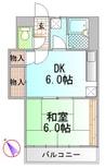 御殿場線(静岡県内)/御殿場駅 徒歩48分 2階 築30年 1DKの間取り