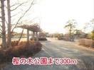 樫の木公園まで300m