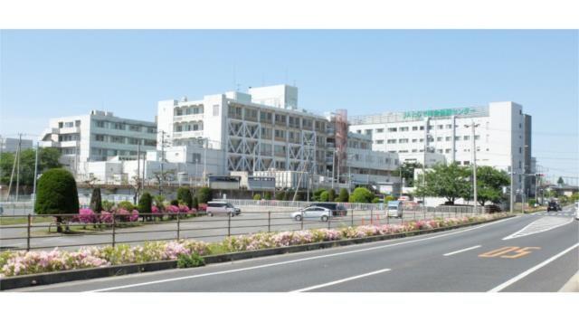 JAとりで総合医療センター(病院)まで1337m