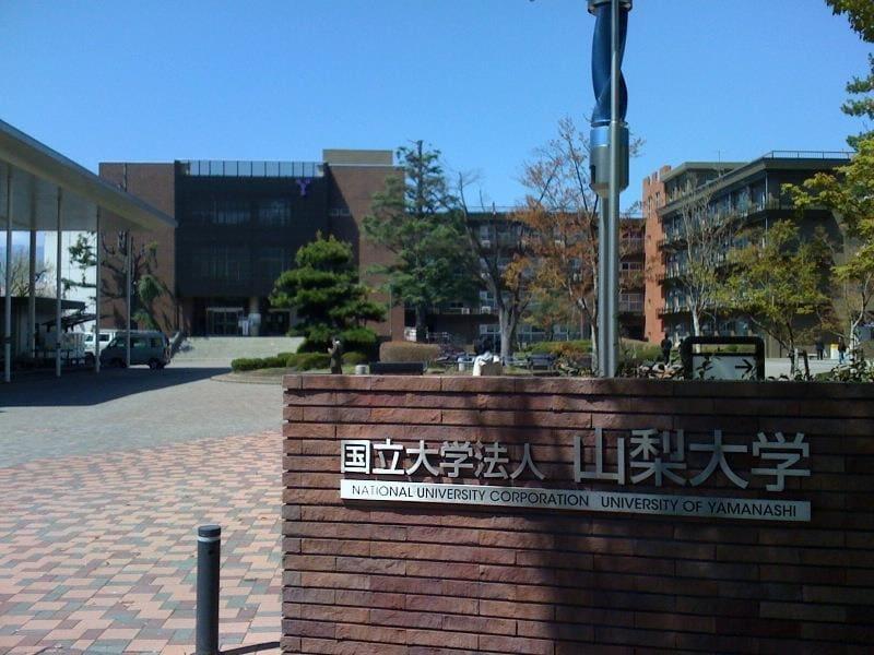 国立大学法人山梨大学(大学/短大/専門学校)まで1836m