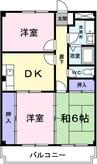 レザン・パレ・TOKIWA 3DKの間取り