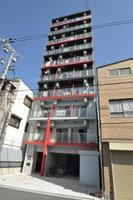 大阪メトロ御堂筋線/大国町駅 徒歩6分 8階 築4年の外観