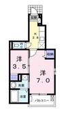 南海高野線/北野田駅 徒歩7分 1階 築7年 1Kの間取り