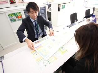 エイブル高円寺店の接客写真