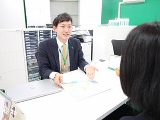 エイブル聖蹟桜ヶ丘店の接客写真