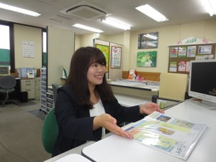 エイブル上野店の接客写真