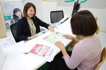 エイブル祖師ヶ谷大蔵店の接客写真