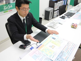 エイブル蒲田東口店の接客写真