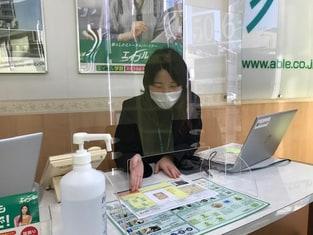 エイブル上小田井店の接客写真