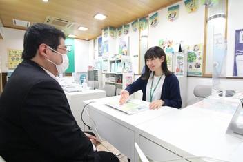 エイブル武蔵小山駅前店の接客写真