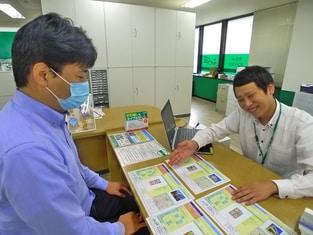 エイブル南浦和東口店の接客写真