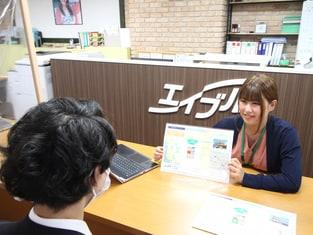 エイブルふじみ野店の接客写真