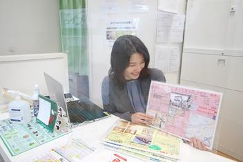 エイブル仙台駅前西口店の接客写真