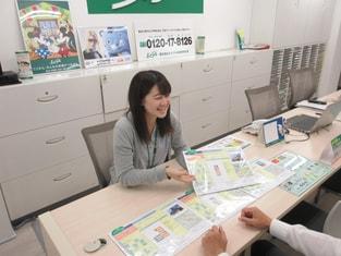エイブル川崎店の接客写真