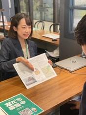 エイブル武蔵小杉西口店の接客写真