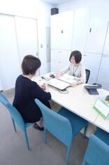 エイブル新松戸店の接客写真