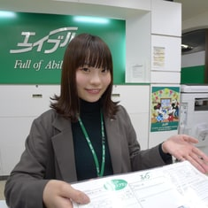 エイブル下総中山店の接客写真