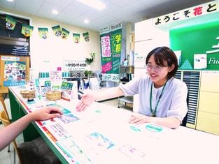 エイブル新検見川店の接客写真