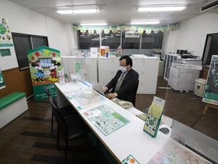エイブル幡ヶ谷店の接客写真