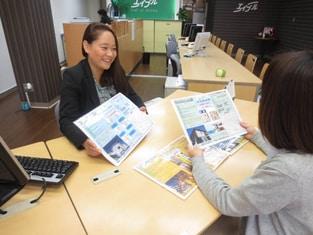 エイブル江古田店の接客写真