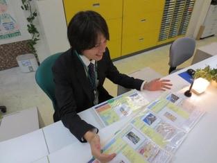 エイブル駒沢大学店の接客写真
