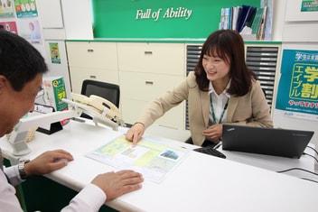 エイブル桜上水店の内観写真