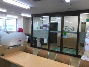 エイブル瀬田駅前店の内観写真